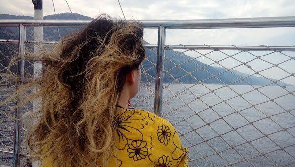 Ölüdeniz Tekne Turundan bir manzara