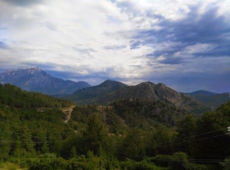 Olimpos Kavşağı Yükseklerden Bakış