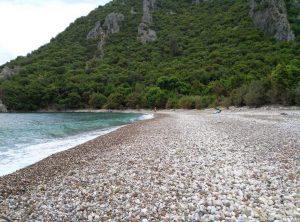 Olimposda Mayıs ayında sahil böyle oluyor