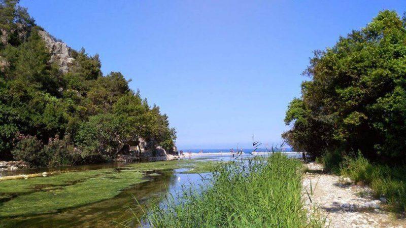 Olimpos Patikaları ve Olimpos Plajı Giriş