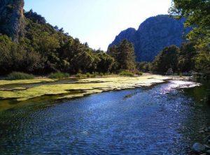 Olimpos Gün Batımı Manzarası