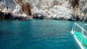 Sulu Ada Kayalıklardaki manzara