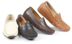 4 farklı renkte erkek ayakkabısı