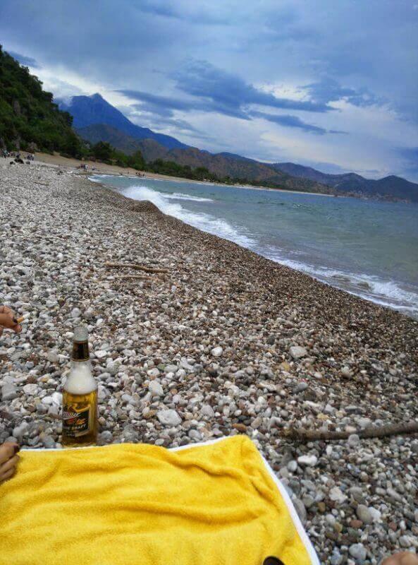 Olimpos sahilinden tahtalı dağı