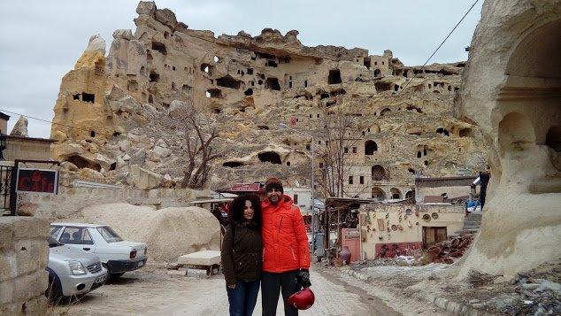 Kapadokya Çavuşin manzara