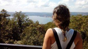 Yuşa Tepesi boğaz manzarası