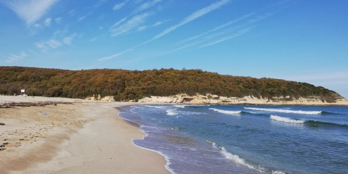 Çilingöz Tabiat Parkı denizi