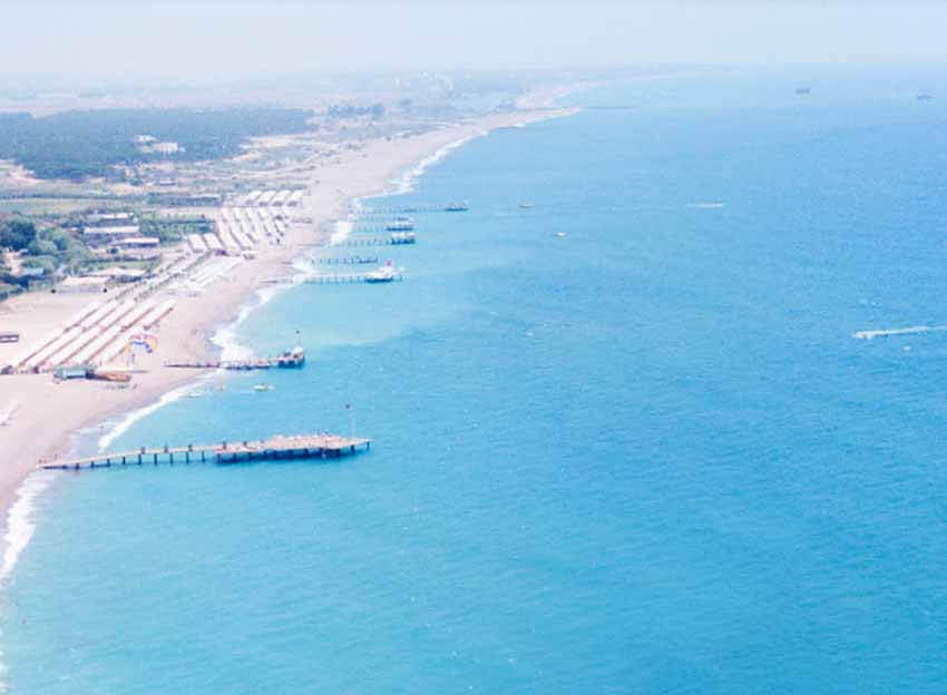 Antalya Mavi Bayraklı Plajlar Kızılağaç