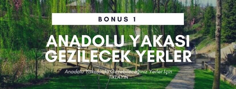 Anadolu Yakası Gezilecek Yerler