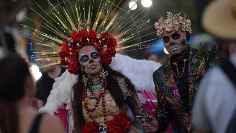 ölüler festivali meksika