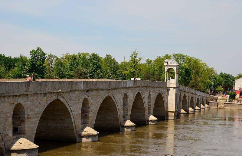 Edirne Gezilecek Yerler Meriç Köprüsü