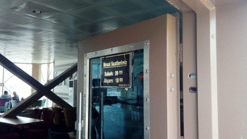 Levent Vadisi açılış-kapanış saatleri