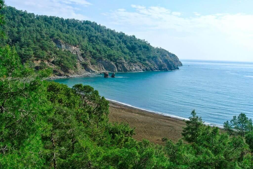Maden Koyu deniz manzarası