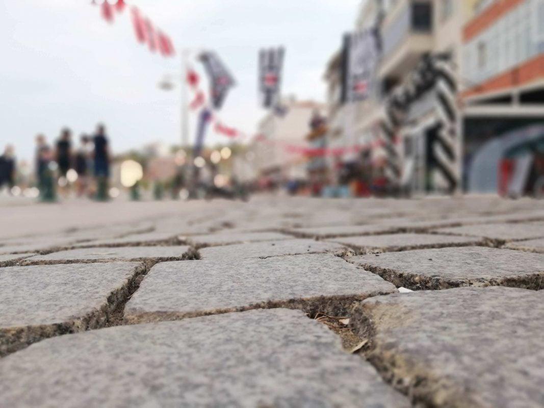 Marmara Ereğlisi taş yollar