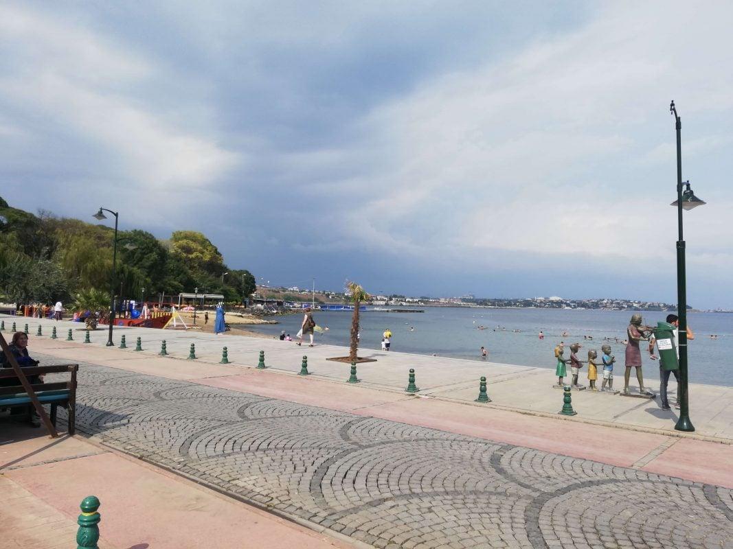 Marmara Ereğlisi sahili