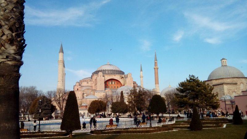 İstanbul Gezilecek Yerler-Ayasofya Müzesi