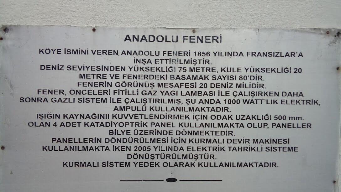 Yoros Kalesi - Anadolu Feneri - Yusa Tepesi (33)