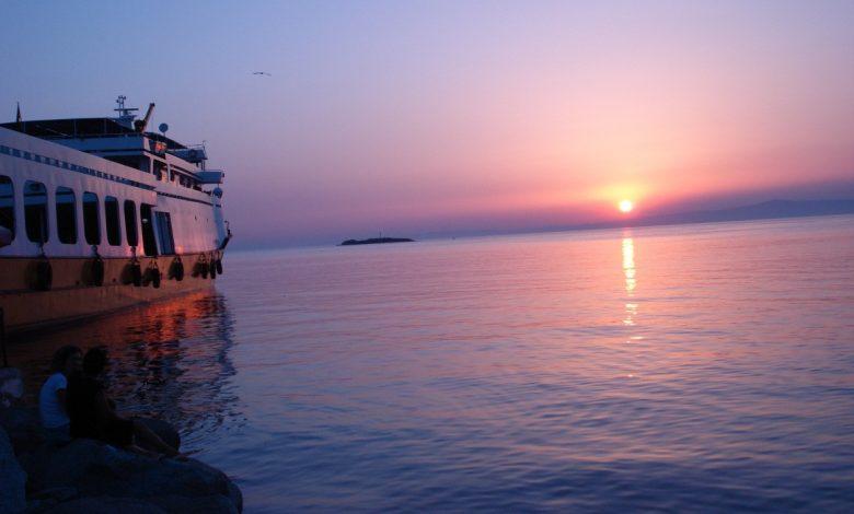 Avşa Adası Gün Batımı