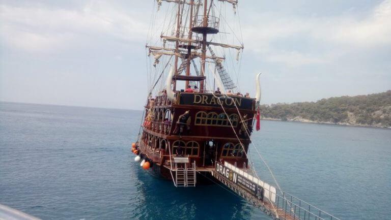 Ölüdeniz tekne Turu Dragon teknesi