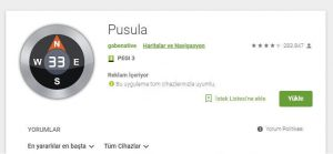 Play store Pusula