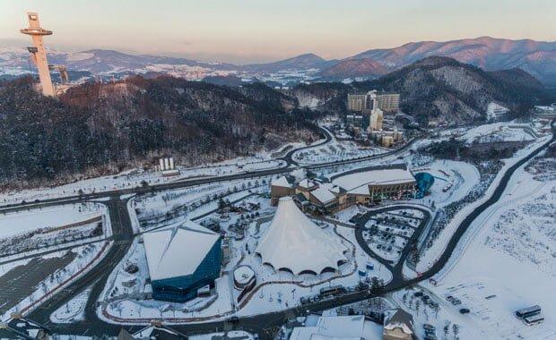Kış Olimpiyatlarının Düzenlendiği Ülkeler Güney Kore