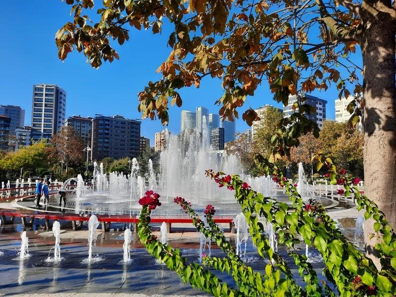 İstanbul Gezilecek Yerler-Göztepe 60.Yıl Parkı